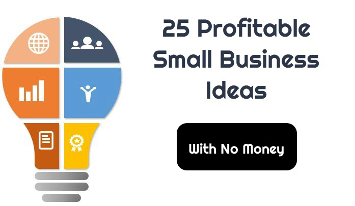 25 Profitable Small Business Ideas With No Money